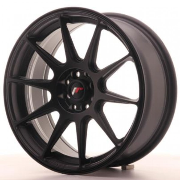 JAPAN  Racing JR11 17x7,25 ET25 4x100/108 Matt Bla...