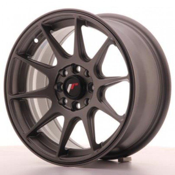 JAPAN Racing JR11 15x7 ET30 4x100/114 Matt Gun Met