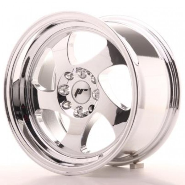 JAPAN Racing JR15 15x8 ET20 4x100/108 Vacum Chrome