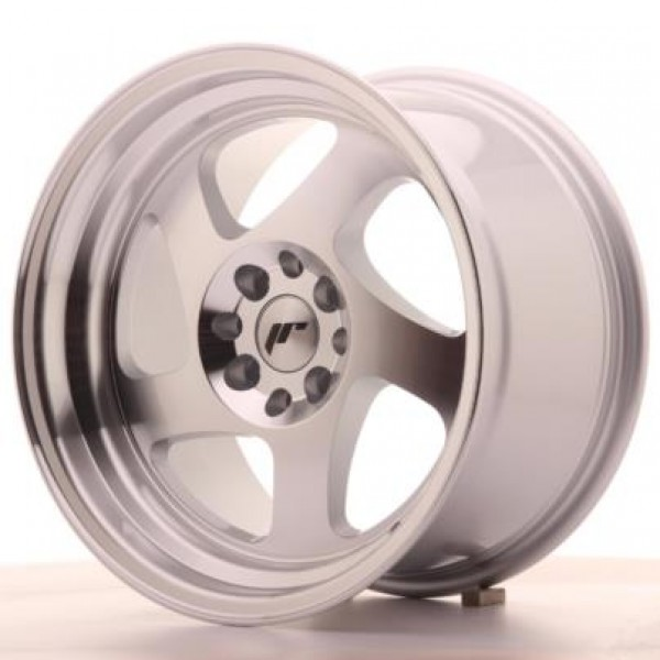 JAPAN Racing JR15 16x9 ET20 4x100/108 Machined Sil