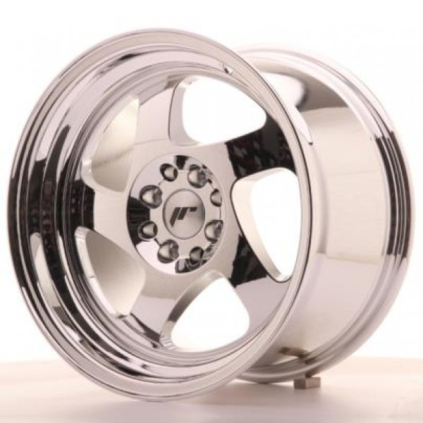JAPAN Racing JR15 16x9 ET20 4x100/108 Vacum Chrome
