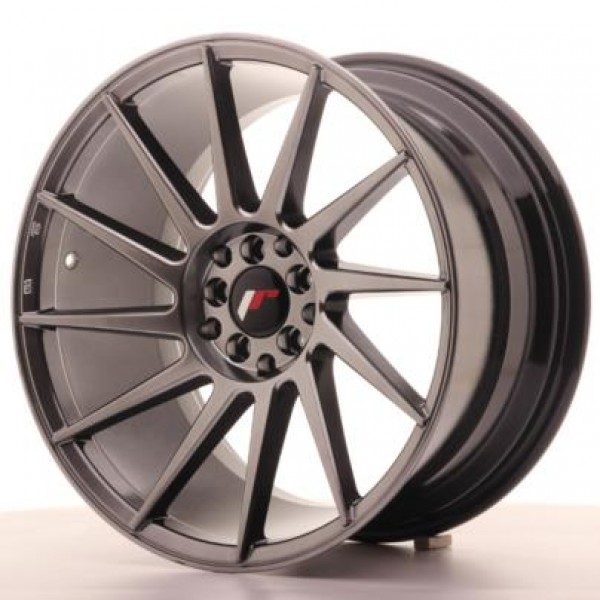 JAPAN  Racing JR22 18x9,5 ET35 5x100/120 Hiper Bla...