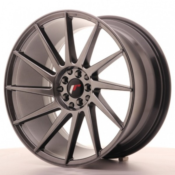 JAPAN  Racing JR22 19x9,5 ET35 5x100/120 Hiper Bla...