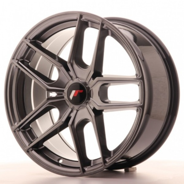 JAPAN Racing JR25 18x8,5 ET40 5H Blank Hiper Black