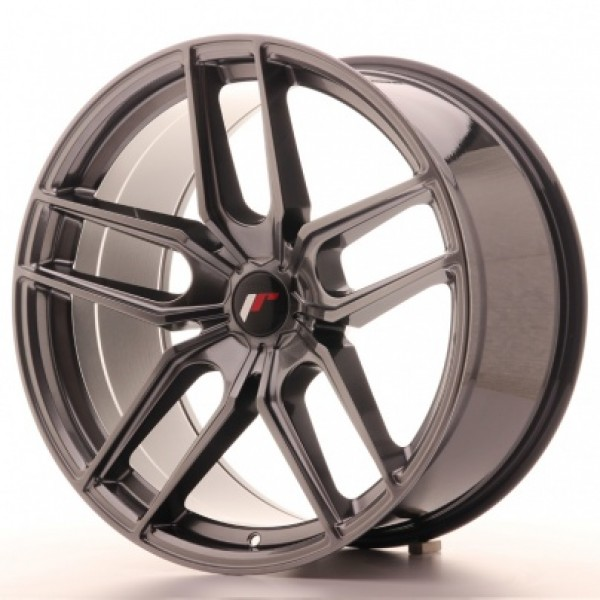 JAPAN  Racing JR25 20x10 ET40 5H Blank Glossy Blac...
