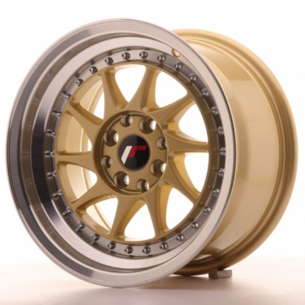 JAPAN Racing JR26 1 5x8 ET25 4x100/108 Gold