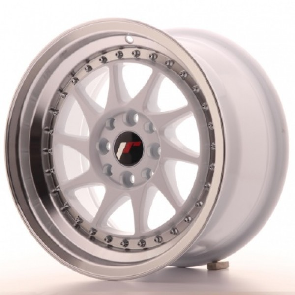 JAPAN Racing JR26 15x8 ET25 4x100/108 White