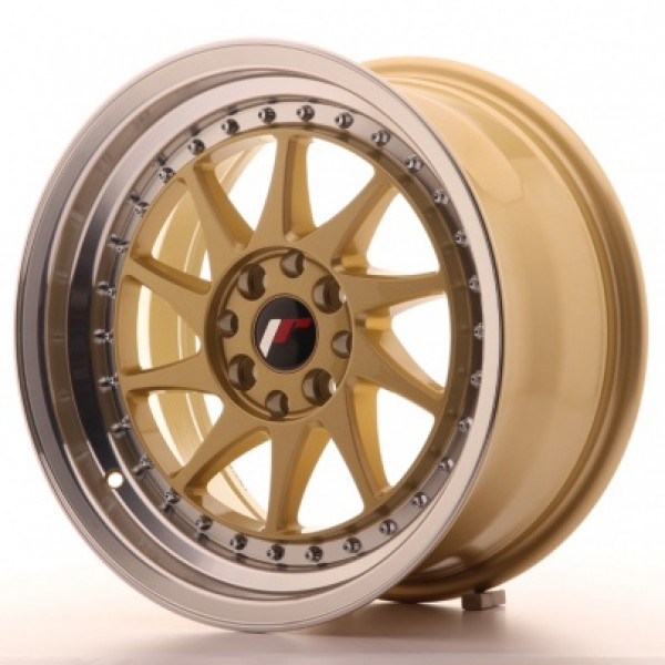 JAPAN Racing JR26 16x8 ET25 4x100/108 Gold