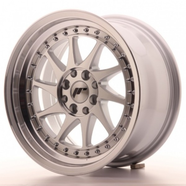 JAPAN Racing JR26 16x8 ET25 4x100/108 Mach Silver