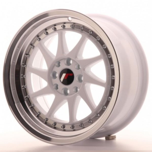 JAPAN Racing JR26 16x8 ET25 4x100/108 White