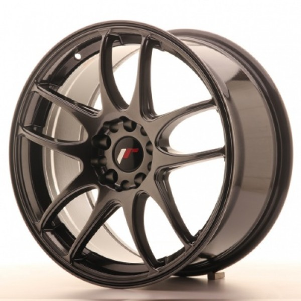 JAPAN Racing JR29 15x7 ET20-35 4H Blank Hyper Blac