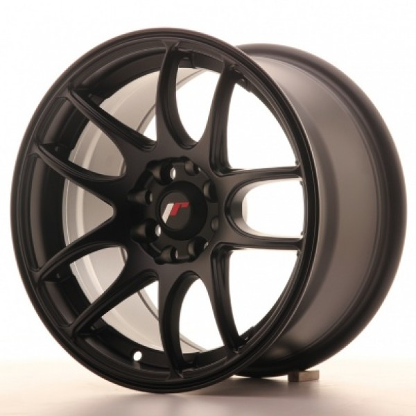 JAPAN Racing JR29 15x8 ET28 4H Blank Matt Black