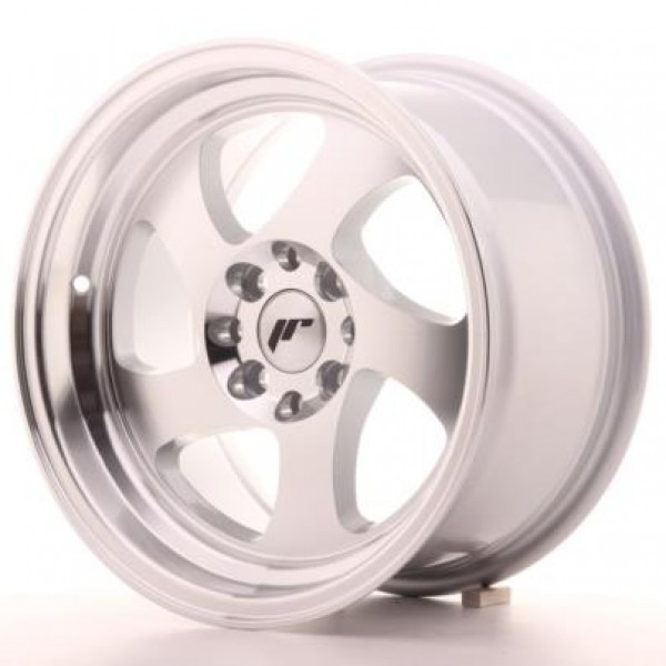 JAPAN  Racing JR15 19x8,5 ET35-40 5H Blank Silver ...