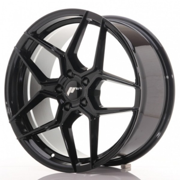 JAPAN Racing JR34 19x8,5 ET20-40 5H Blank Gloss Bl...