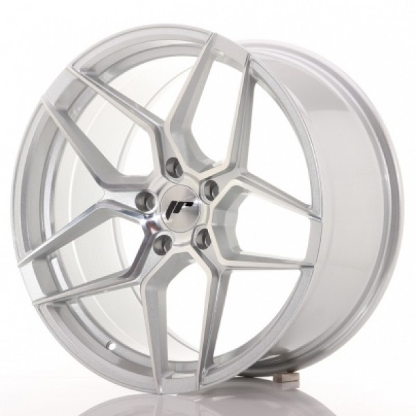 JAPAN Racing JR34 19x9,5 ET20-40 Silver Machined
