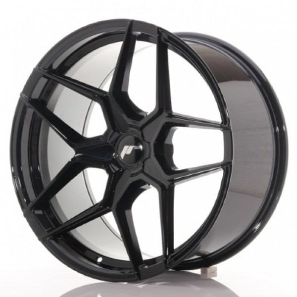 JR wheels  JR34 20x10 ET20-40 Gloss Black