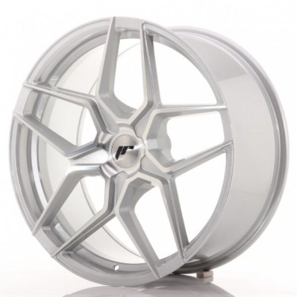 JAPAN Racing JR34 19x8,5 ET20-40 5H Blank Silver M...
