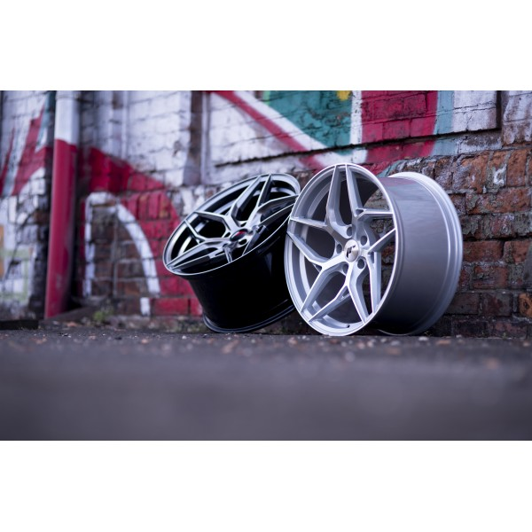 JR wheels JR35 19x9,5 ET20-45 Silver Machined