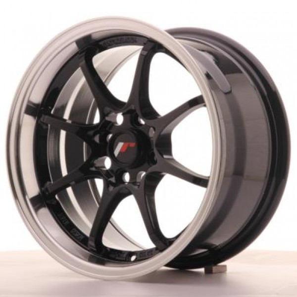 Japan Racing JR5 15x8 ET28 4x100 Gloss Black