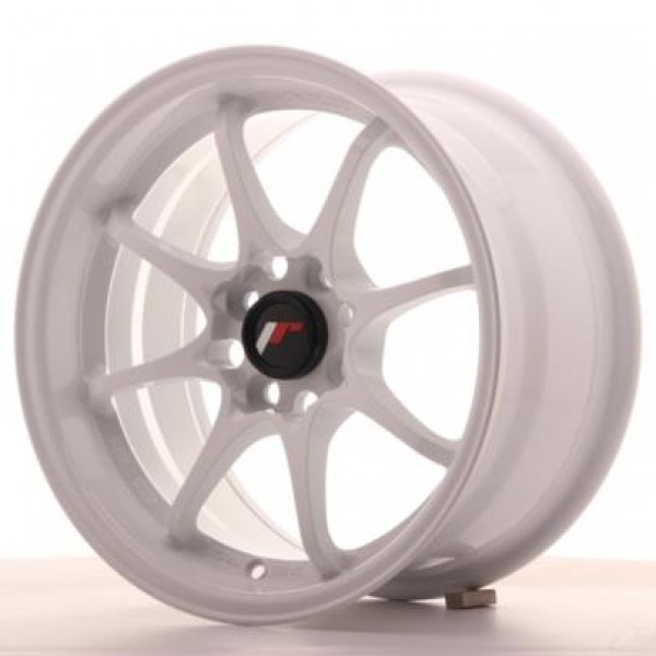 Japan Racing JR5 15x8 ET28 4x100 White