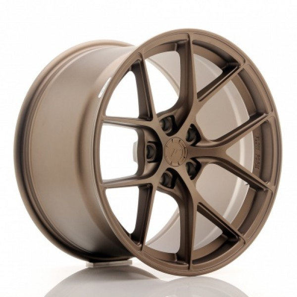 JR WHEELS SL01 19X10,5 ET25-40 5H BLANK MATT BRONZ...