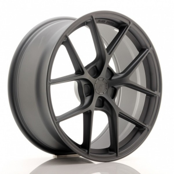 JR WHEELS SL01 19X8,5 ET20-45 5H BLANK MATT GUN ME...
