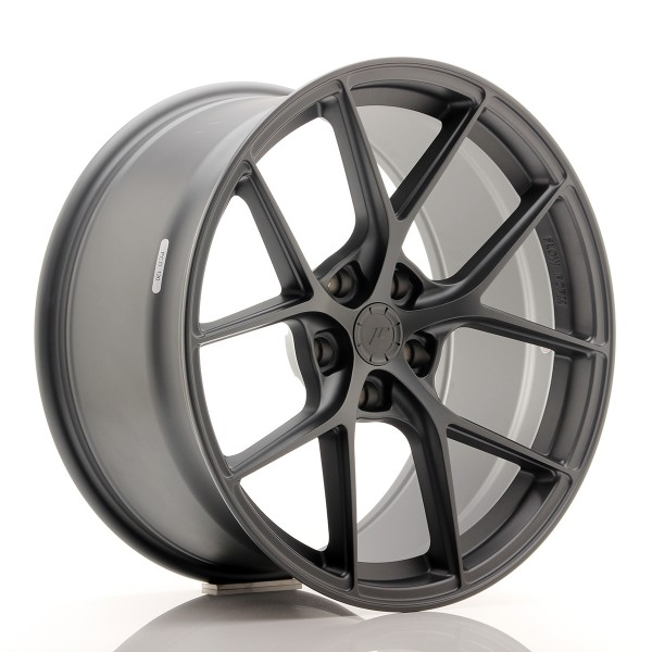 JR WHEELS SL01 19X10,5 ET25-40 5H BLANK MATT GUNME...