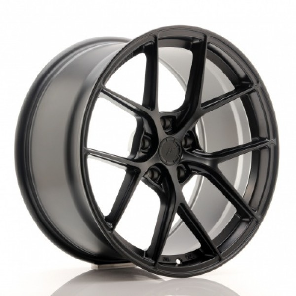 JR WHEELS SL01 19X10,5 ET25-40 5H BLANK MATT BLACK