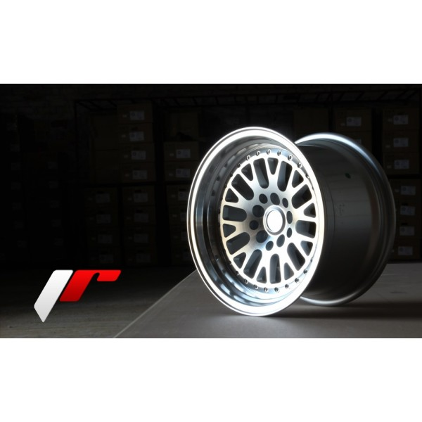 JAPAN RACING JR10 16X9 ET10-20 4X100/108/114.3 5x100/114.3 MACHINED SILVER