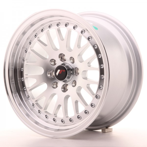 JAPAN RACING JR10 16X8 ET10-20 4X100/108/114.3 5x100/114.3 MACHINED SILVER