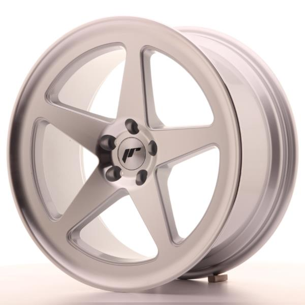 JAPAN RACING JR24 18X8,5 ET38 5X100 MACHINED SILVE...