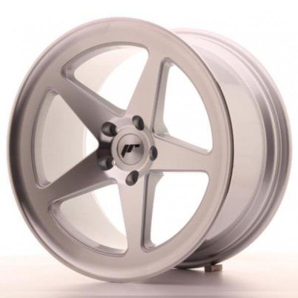 JAPAN RACING JR24 18X9,5 ET40 5X112 MACHINED SILVE...
