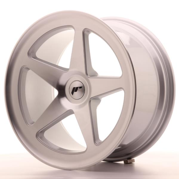 JAPAN RACING JR24 18X9,5 ET25-32 BLANK MACHINED SI...