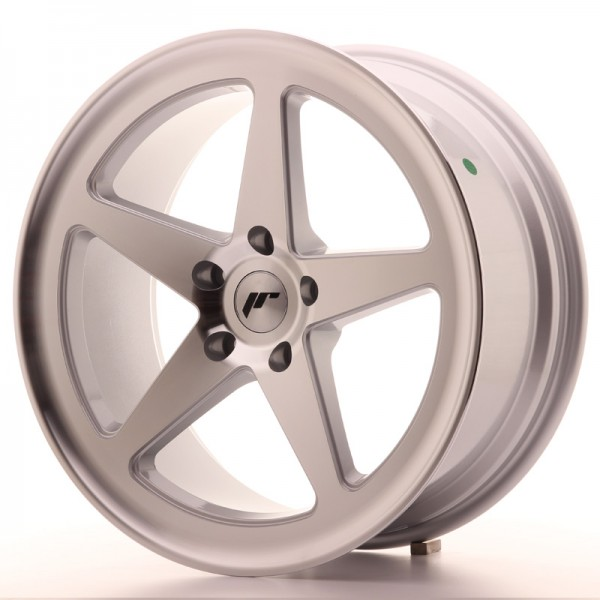 JAPAN RACING JR24 19X8,5 ET35 5X120 MACHINED SILVE...
