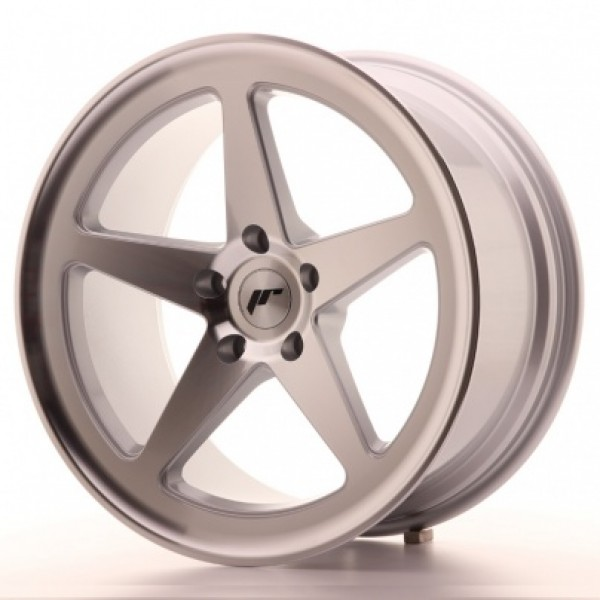 JAPAN RACING JR24 19X9,5 ET35 5X120 MACHINED SILVE...