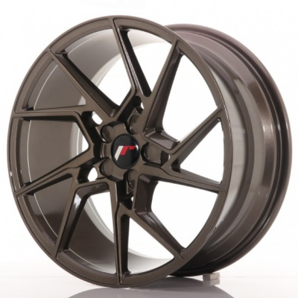 JAPAN Racing JR33 19x8,5 ET20-45 5H Blank Bronze
