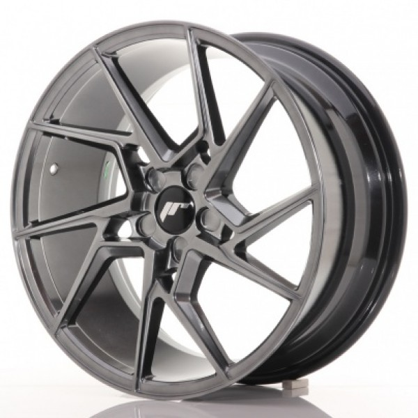 JAPAN Racing JR33 20x9 ET20-45 5H Blank HyperBlack