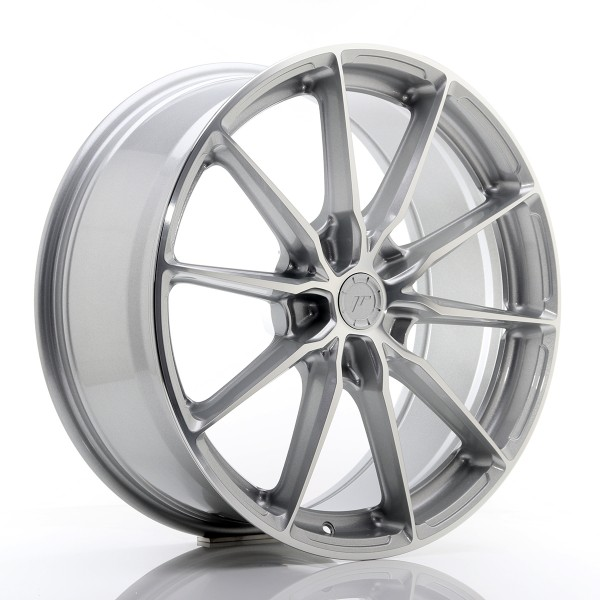 JR WHEELS JR37 19X8,5 ET20-45 Silver Machined Face