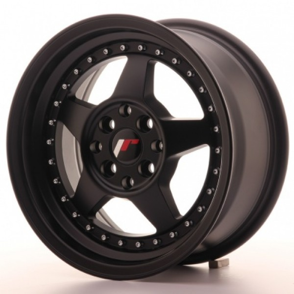 Japan Racing JR6 15x7 ET35 4x100/114 Matt Black